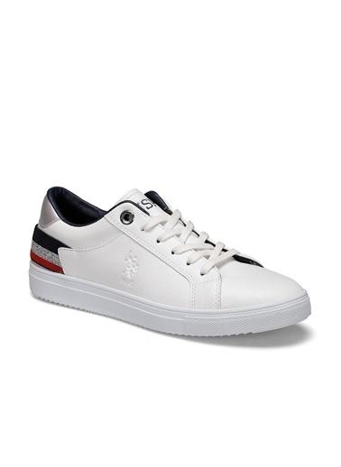 U.S. Polo Assn. Tory Kadın Sneaker Ayakkabı Beyaz